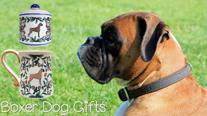 Boxer canine merchandise