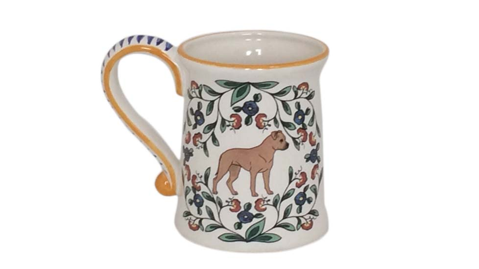 Artisan dog mug from Shepherds Grove
