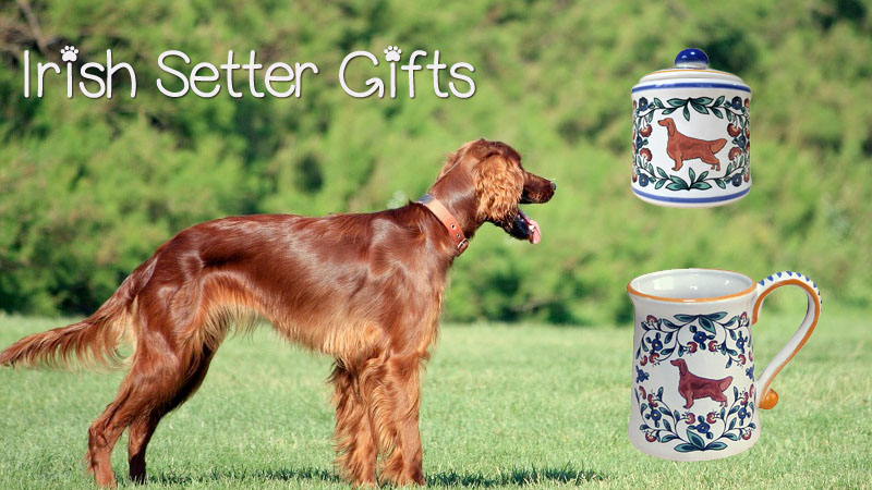 Irish Setter Gifts from shepherds-grove.com