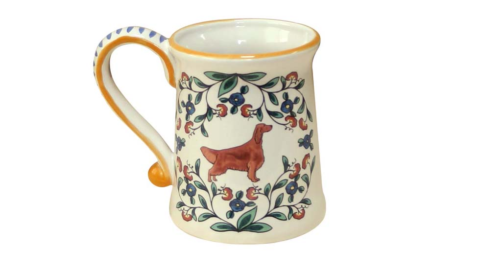 Artisan dog mug from www.shepherds-grove.com